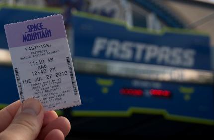 Fastpass-Ticket